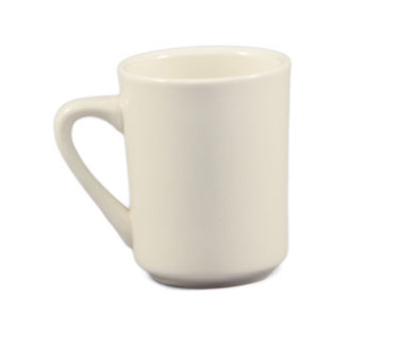 CAC International TM8W 8-oz REC Tierra Mug - Ceramic, American White