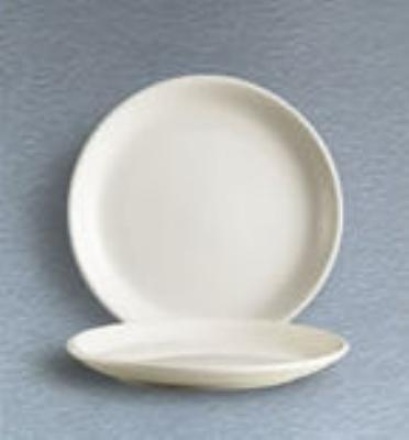C A C International REC5C Coupe Plate 5-1/2 in Rolled Edge Specialty Item American White Restaurant Supply