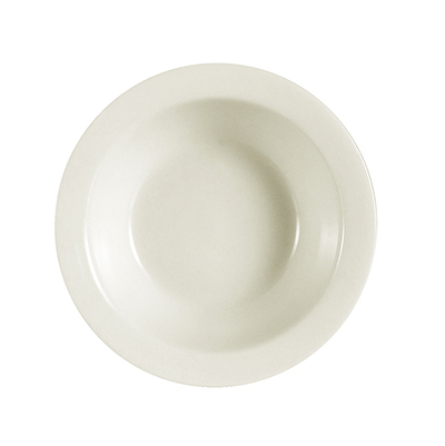 CAC International NRC11 4.75-oz NRC Fruit Dish - Ceramic, American White