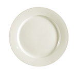 "CAC International REC16 10.5"" REC Dinner Plate - Ceramic, American White"