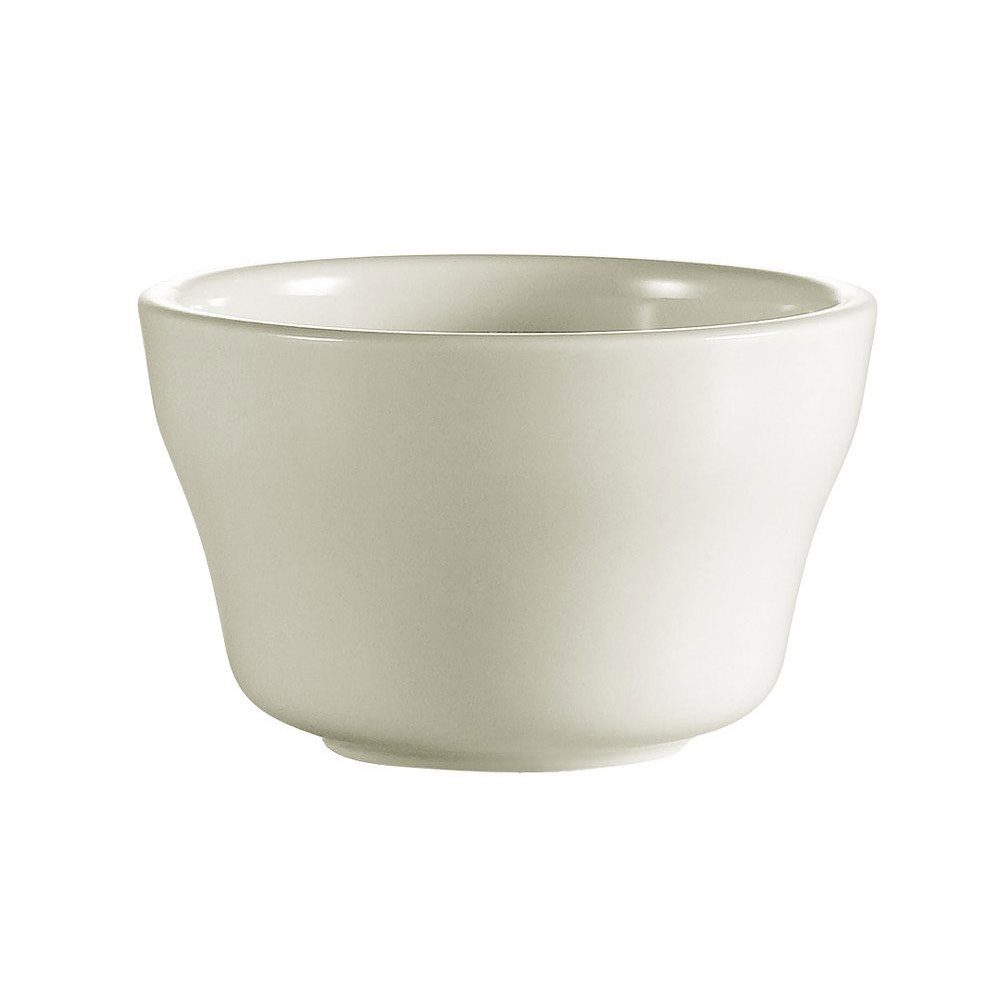 CAC International REC4 7.25-oz REC Bouillon Cup - Ceramic, American White