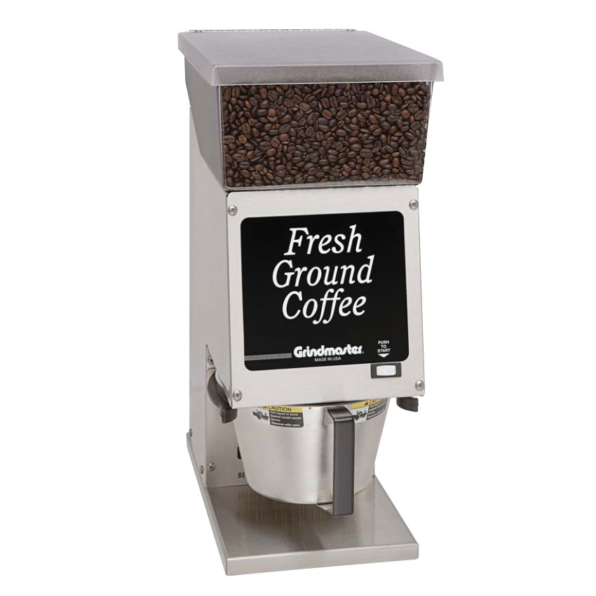 Grindmaster - Cecilware 190SS Compact Adjustable Coffee Grinder, 6-lbs Hopper Capacity