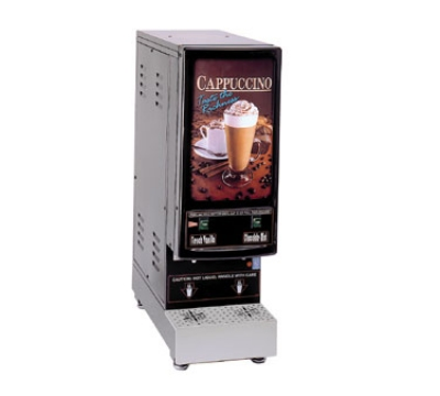 Grindmaster - Cecilware 5K-GB-NL Cappuccino Dispenser, 5-Flavor Manual Dispense