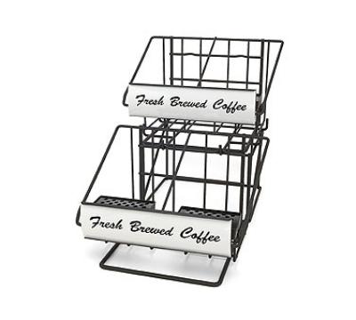 Grindmaster - Cecilware 70665 Airpot Rack, (2) 2-Pot Wide Racks & (1) 2-Pot Riser, Holds (4) 2.2 L Airpots