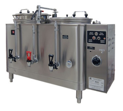 Grindmaster - Cecilware 74410(E) 120208 Twin Automatic AMW Coffee Urn, 10 gal. Capacity, 120/208 Volt