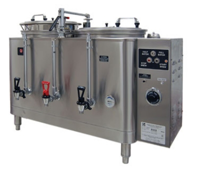 Grindmaster - Cecilware 7446(E) 120208 Twin Automatic AMW Coffee Urn, 6 gal. Capacity, 120/208 Volt