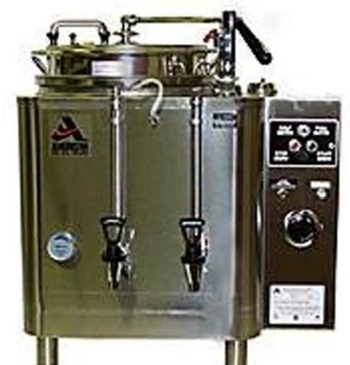 Grindmaster - Cecilware 7773(E) Automatic Twin 3-gal Coffee Urn w/ Pump Style Brew, Single Wall 120/208/1 V