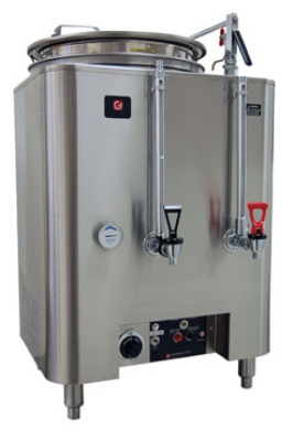 Grindmaster - Cecilware 80110(E) 120208 Single Automatic AMW Coffee Urn, 10 gal. Capacity per Liner, 120/208 V