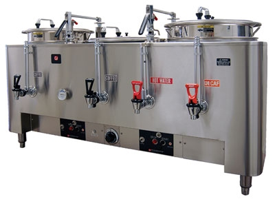 Grindmaster - Cecilware 8303(E) 120208 Triple Automatic Dual Wall Coffee Urn, 3 gal. Capacity, 120/208 V