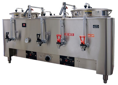 Grindmaster - Cecilware 8306(E) 120208 Triple Automatic Dual Wall Coffee Urn, 3 gal. Capacity, 120/208 V