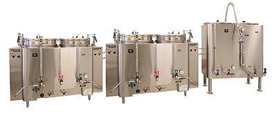 Grindmaster - Cecilware AMV-120(E) 480 120 gallon Banquet Brewing System AMW Coffee Urn, Pump Type, 480 Volt
