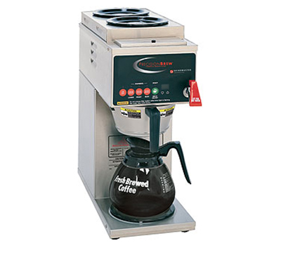 Grindmaster - Cecilware B-3 Automatic Coffee Brewer, 2-Upper/1-Lower Warmers, 120 V