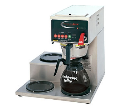 Grindmaster - Cecilware B-3WR 120240 Automatic Coffee Brewer, 2-step Up Warmers on Right, 120/240 V