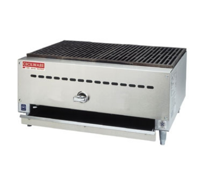 Grindmaster - Cecilware BC1812 LP 12 in Charbroiler, 1 Cast Iron