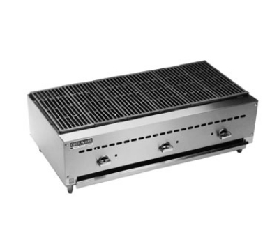 Grindmaster - Cecilware BC1836 LP 36 in Charbroiler, 3 Cast Iron Burners, 51,000 BTU, LP