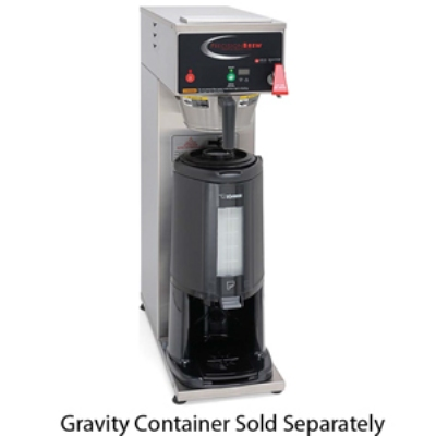 Grindmaster - Cecilware B-SGP 2081 Automatic Dual 2.5-L Fresh Single Coffee Brewer for Thermal Server 120/208/1 V