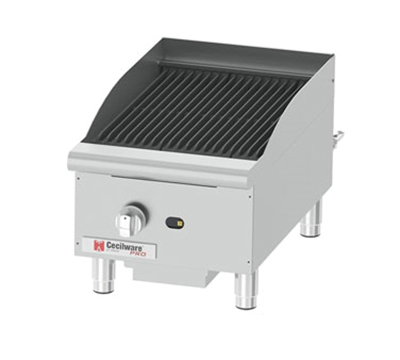 Grindmaster - Cecilware CCP15 1-Burner Gas Charbroiler, Countertop