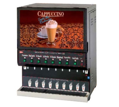 Grindmaster - Cecilware GB8M10-LD-U 8-Flavor Fast Flow Destination Cappuccino Dispenser w/ 4.2-