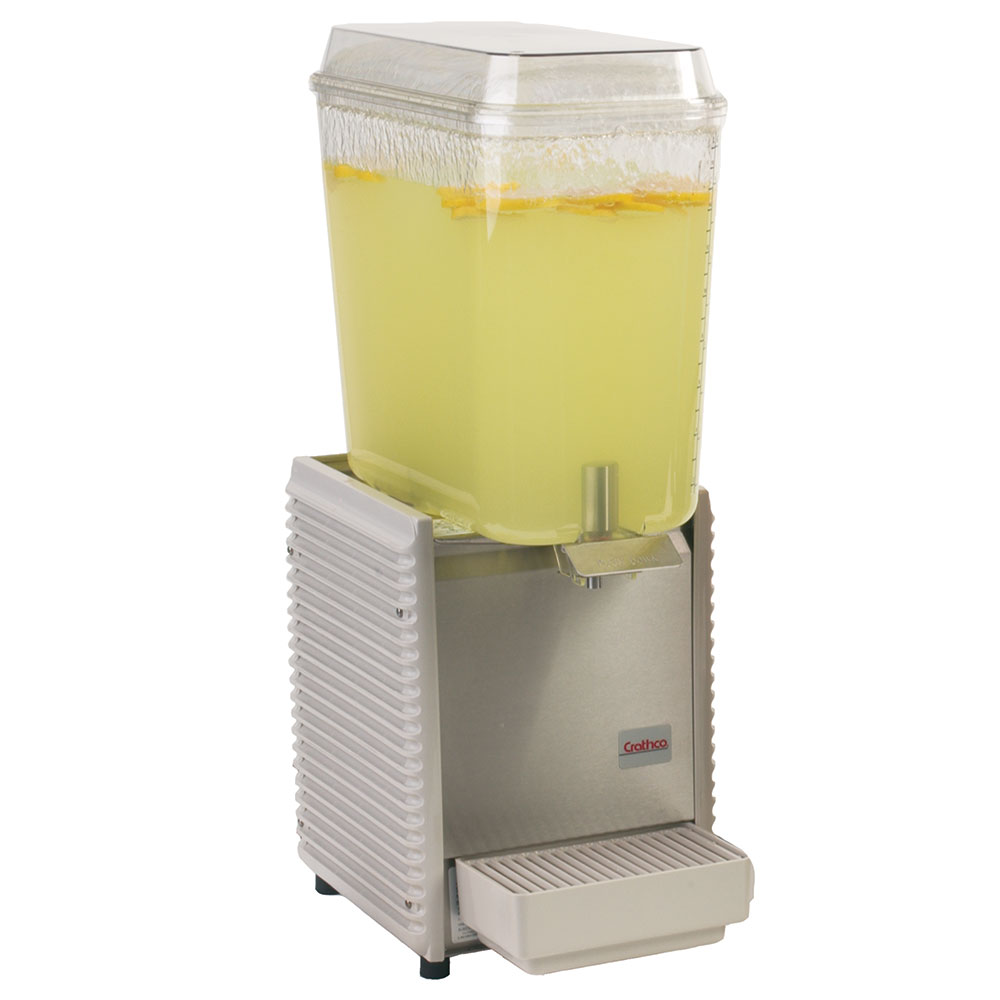 Grindmaster - Cecilware D15-4 Cold Beverage Dispenser For Premix, 5-Gallon, Plastic, 120 V