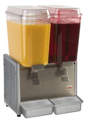 Grindmaster - Cecilware D25-3 5 gal Crathco Classic Bubblers Premix Beverage Dispenser, 120V