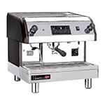 Grindmaster - Cecilware ESP1-220V Venezia II Espresso Machine, Automatic, 1 Group, 6 Quart Boiler, 240 V