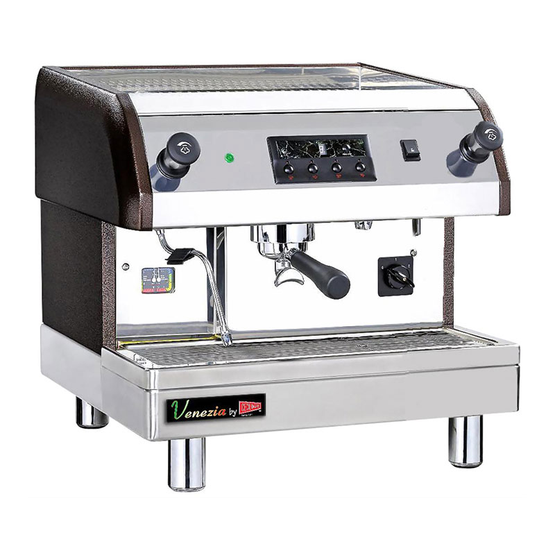 Grindmaster - Cecilware ESP1-110V Venezia II Espresso Machine, Automatic, 1 Group, 6 Q