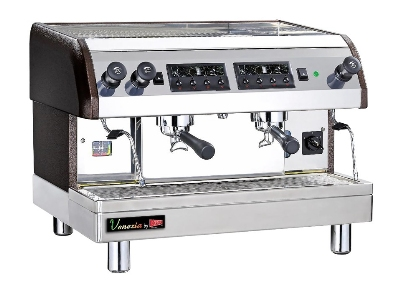 Grindmaster - Cecilware ESP2-220V Espresso Machine - 2-Dispensers, 13-qt Boiler, 240 V