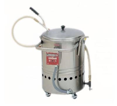 Grindmaster - Cecilware F60 120 FRY-SAVER Oil Filtration System, Mobile, 60 lb. Fat Capacity, 120 V