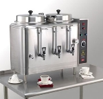 Grindmaster - Cecilware FE100N-1 120208 Automatic Coffee Urn, Twin 3 gal, 120/208 V