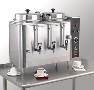 Grindmaster - Cecilware FE200-3 120208 Automatic Coffee Urn, Twin 6 gal, 120/208/3