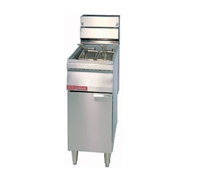 Grindmaster - Cecilware FMP40 LP Floor Model Fryer, 40 lb Fat Capacity, 115000 BTU, LP