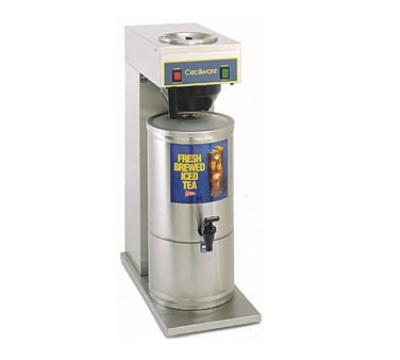 Grindmaster - Cecilware FTC3P Iced Tea Brewer w/ Stainless 3 gal Dispenser, Single Pour Ov