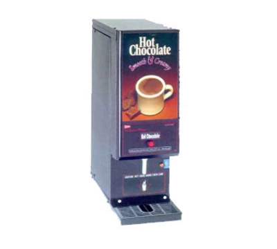 Grindmaster - Cecilware GB1HC-CP Whipper Hot Chocolate Dispenser, Push Button, 2-Gal, Black