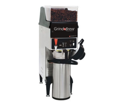 Grindmaster - Cecilware GNB-10H Grind'n Brew Coffee Brewer/Grinder for Airpot, Automatic, 2.2 Liter,