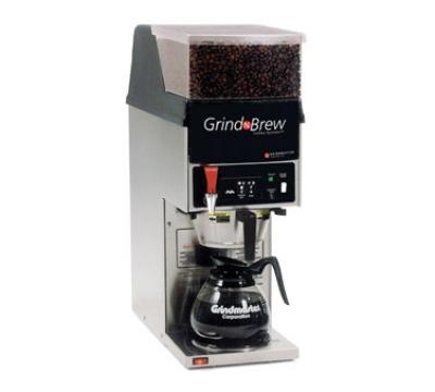 Grindmaster - Cecilware GNB-11H Coffee Brewer Grinder For 12-Cup Decanter, 5.5-lb Hopper
