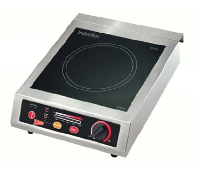Grindmaster - Cecilware IC18A Countertop Induction Range, Glass Top, 1.8 kW