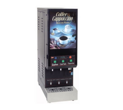 cecilware JAVACCINO3-IT Coffee/Cappuccino Dispenser 3 Products Restaurant Supply