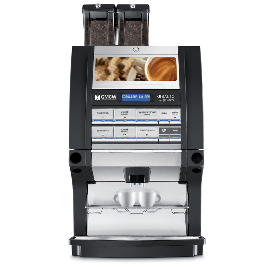 Grindmaster - Cecilware KOBALTO1/3 Automatic Espresso Brewer - (2)Boilers, Touch Pad 120/240v