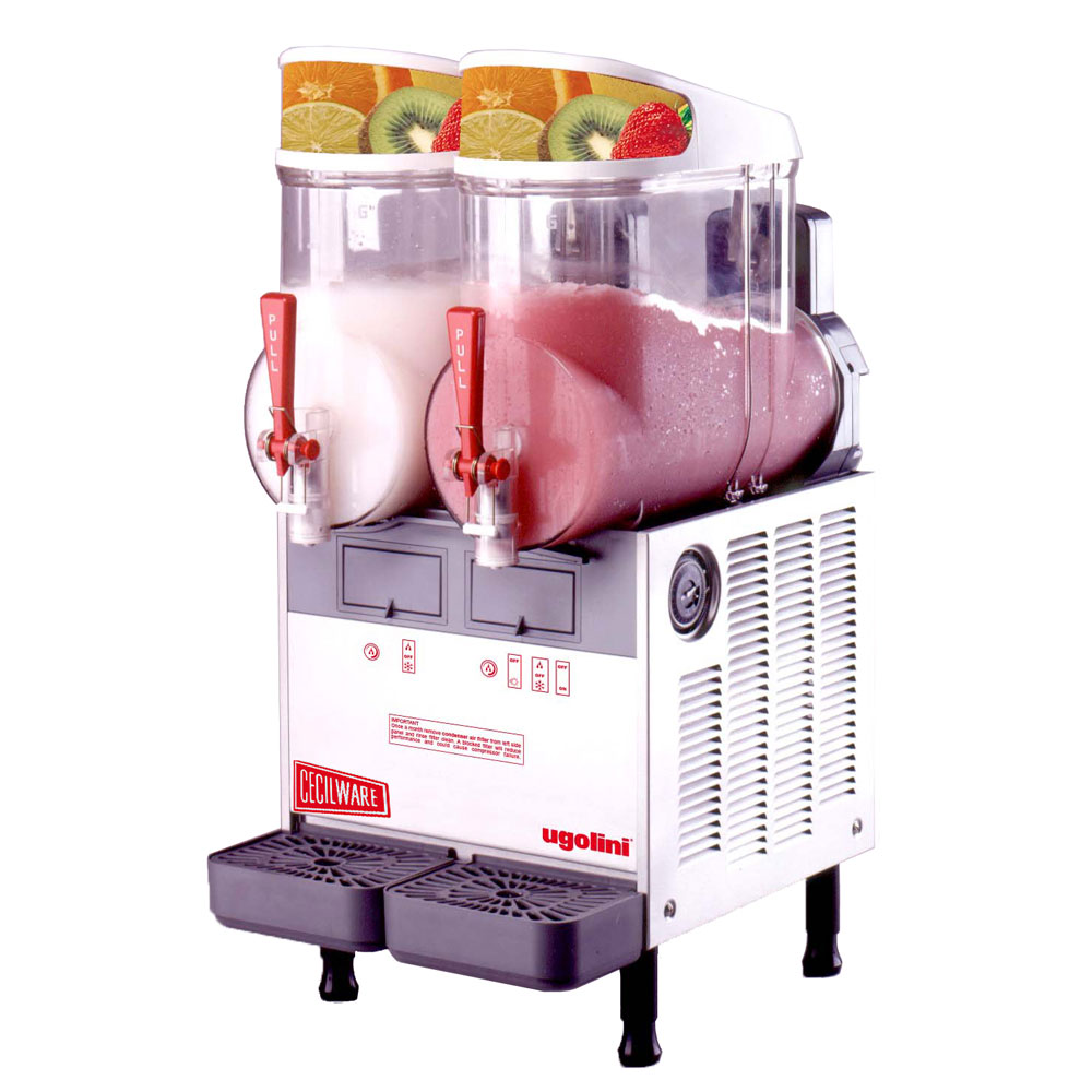 Grindmaster - Cecilware MT2UL 2-1/2 gal FrigoGranita Slush Machine, Twin, Adjustable, Stainless