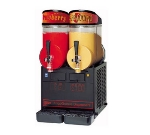 Grindmaster - Cecilware MT2ULBL 2-1/2 gal FrigoGranita Slush Machine, Twin, Adjustable, Black