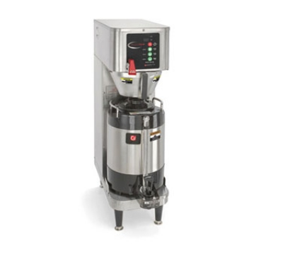 Grindmaster - Cecilware PBVSA-330 208 Single Precision Brew Shuttle Brewer, Guides, w/ VS-1.5S  Stand, 208V