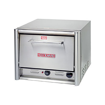 Grindmaster - Cecilware PO18 Electric Single Deck Countertop Pizza Oven, 120/1v