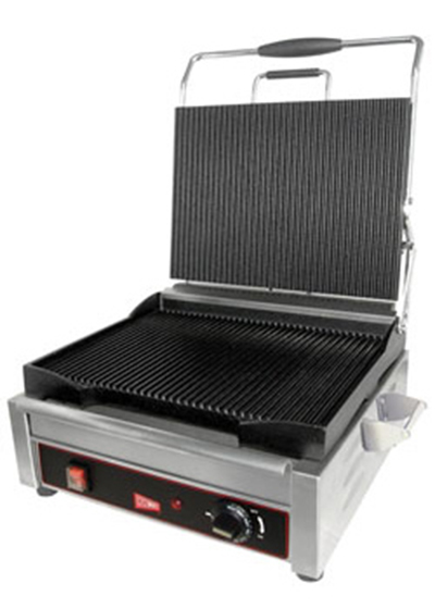 Grindmaster - Cecilware SG2LF Double Panini/Sandwich Grill with Flat Surface