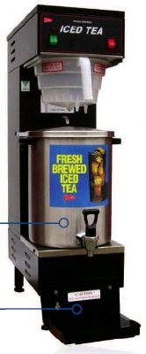Grindmaster - Cecilware SU3P 3 gal Iced Tea Dispenser and Base