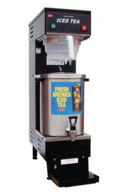 Grindmaster - Cecilware TB3 3 gal Iced Tea Brewer w/ B-1/3T Dispenser, Automatic, Plastic