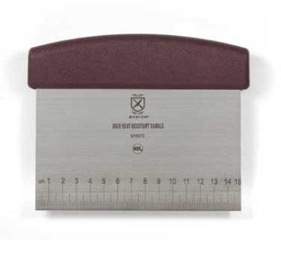 Mercer Cutlery M18370 Bench Scraper w/ Heat Resistant Handle,