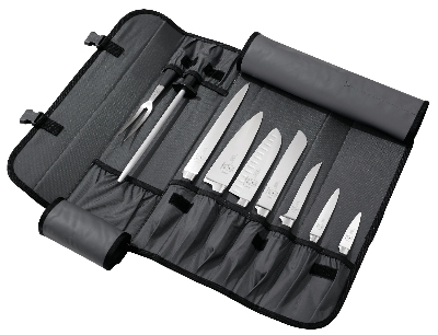 Mercer Cutlery M21810 Genesis Forged Knife Case Set, 10-Piece Set