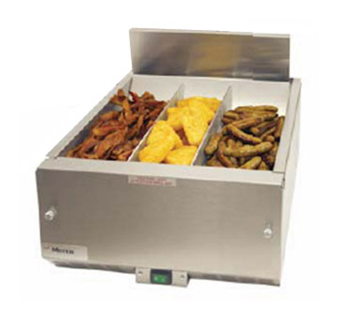 Merco Savory 27008 16-in Countertop Fried Food Holding Station, Air Controlled, Stainless, Export