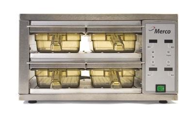 Merco Savory 86002 MHC-22-GEN Holding Cabinet w/ 4-Bin Size, 120 V