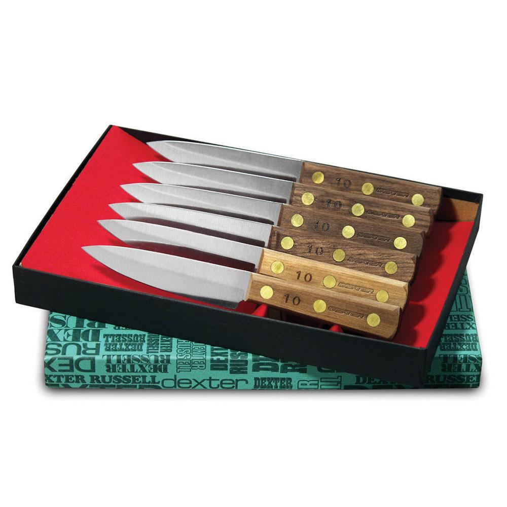 Dexter Russell #2 SET Green River Steak Gift Set, 6 Piece